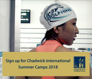 Chadwick Summer Camps 2018 - ends 5 Aug
